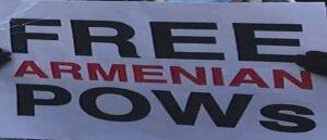 Акции протеста об освобождении армянских военнопленных