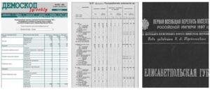 Первая всероссийская перепись населения в Российской империи