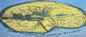 Армения в Древнем мире по карте Геродота