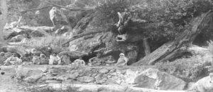 Паломники Ван Кохбанц у священной ивы - Комментарий к фотографии