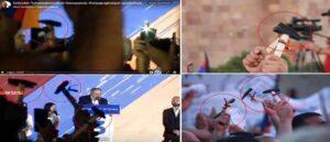Аппарат Защитника прав человека РА зафиксировал молотки в руках сторонников ИО премьера Армении