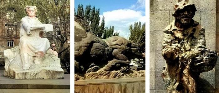 Левон Токмаджян - Скульпторы Еревана