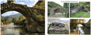 Мост в Санаине - Строительное искусство Армении