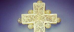 Армянский филигранный крест найденный в Эфиопии - Фото