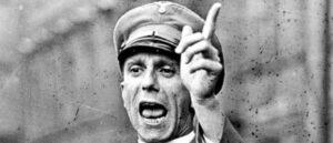 Величайший враг пропаганды - интеллектуализм - Йозеф Геббельс