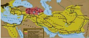 Битва при Гавгамелах - Правый фланг
