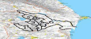 Перечень армянских земель оккупированных Азербайджаном