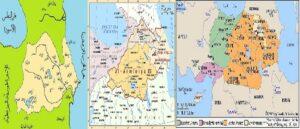 Арабская карта периода халифата - Баку в составе Армении