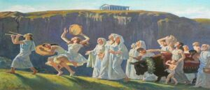 Древний армянский праздник Навасард