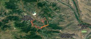 Азербайджанские ВС заблокировали межгосударственную дорогу Горис - Капан - Армения