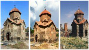 Аштарак - Кармравор или церковь Сурб Аствацацин VII век
