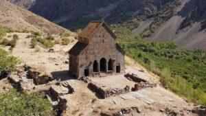 Зорац кар - Церковь в селе Ехегис - Вайоц Дзор - Армения