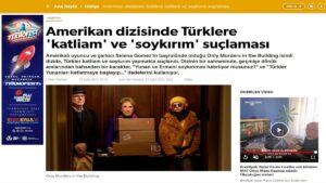 Турецкие СМИ не довольны упоминанием Геноцида армян в американском сериале